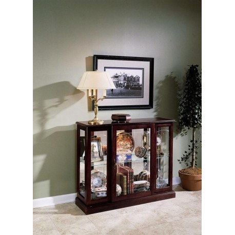 Ridgewood Cherry Display Cabinet