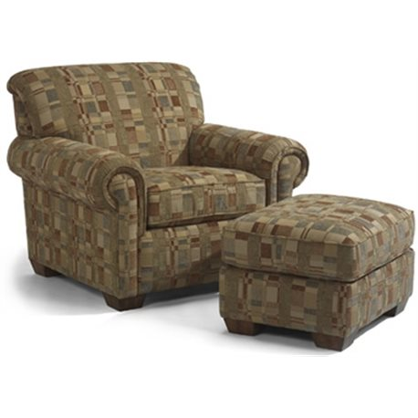 Main Street Chair Ottoman Cedar Hill Furniture