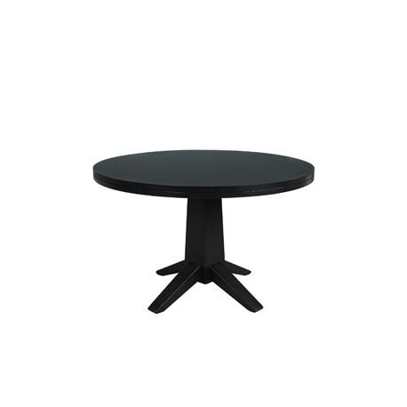 Round Veneer Table