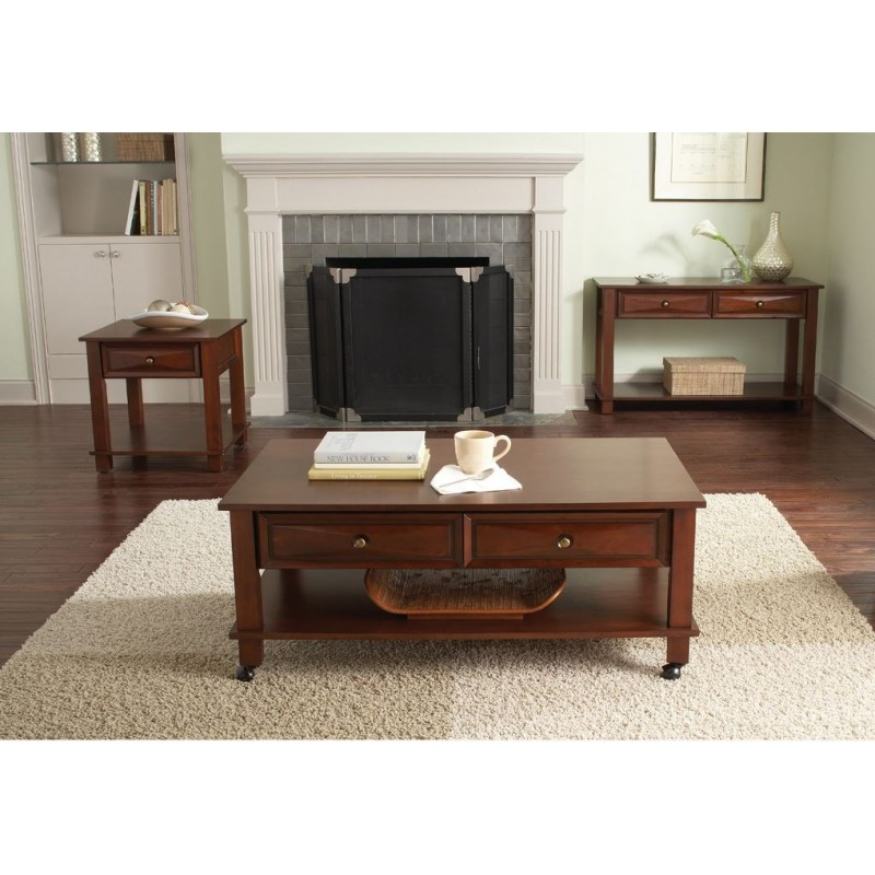Mason Cherry Occasional Table Collection Cedar Hill Furniture