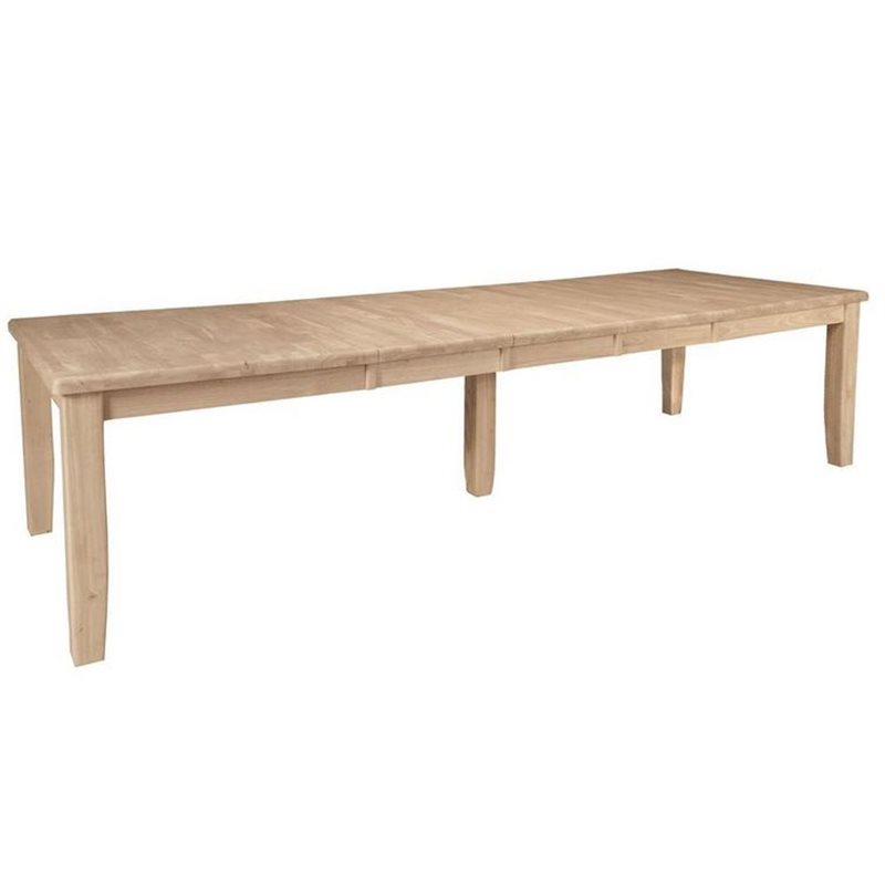 John Thomas Select Large Extension Table With Shaker Legs Cedar Hill Furniture