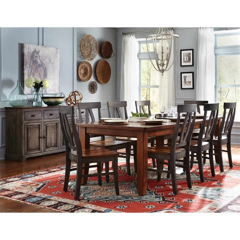 John Thomas Select Large Extension Table With Shaker Legs