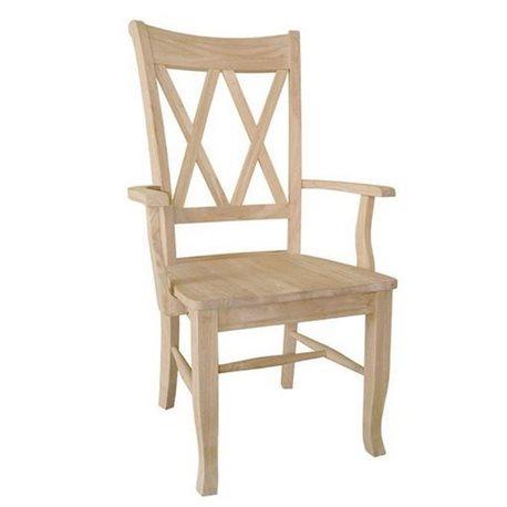 John Thomas Select Double X-Back Arm Chair