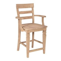 John Thomas Select Java Stool w/ Arms