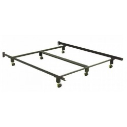 Twin/Full/Queen Deluxe Insta-Lock Bed Frame