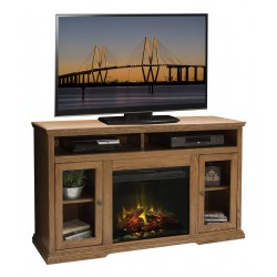 American Traditions Fireplace TV Console