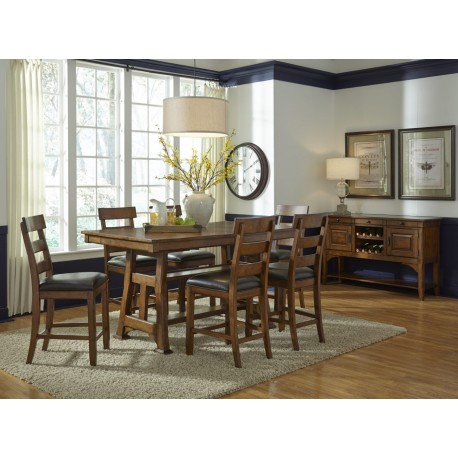 Ozark Gathering Table Dining Set Cedar Hill Furniture