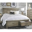 Glacier Point Queen Storage Bed