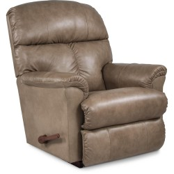 Reed Leather Rocking Recliner