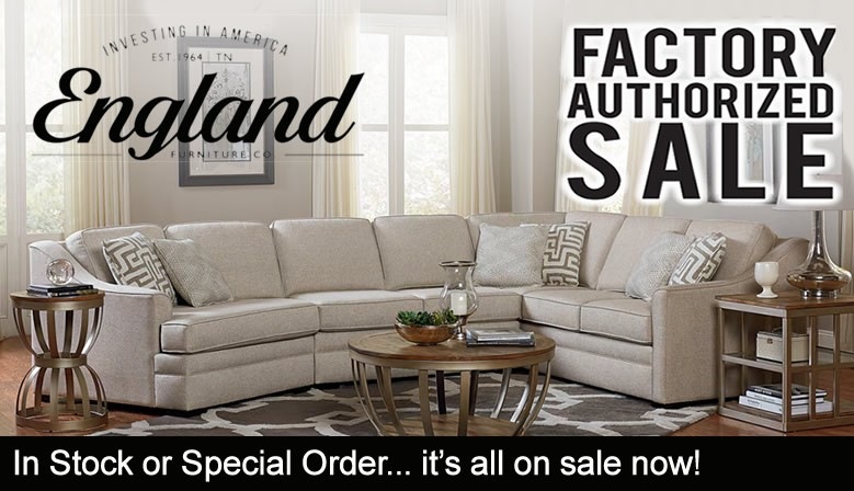 England Furniture Factory Authorized Sale