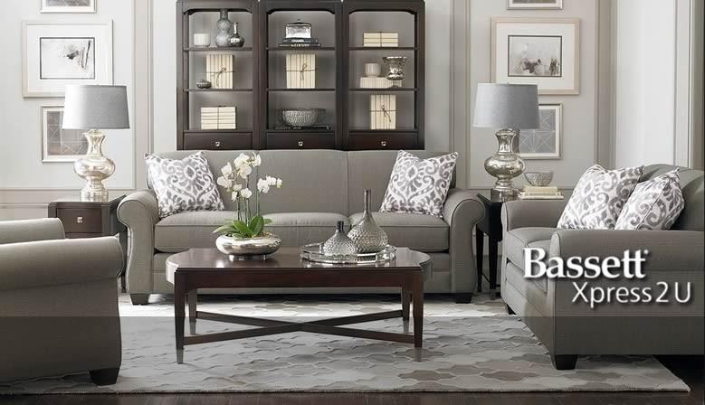 Bassett XPress 2 U Quick Ship Custom Upholstery