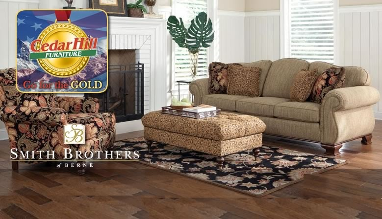 Get big savings on quality furniture made in the USA during the Go for the Gold Sale... going on now!