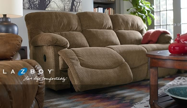 Relax in comfortable reclining furniture from La-Z-Boy, Best Home Furnishings, England, and Flexsteel