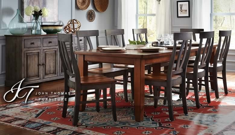 Whether everyday or during the holidays, your meals will be special on a beautiful dining set from Cedar Hill Furniture.