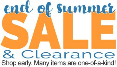 End of Summer Sale and Clearance