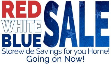 Red, White and Blue Furniture Sale